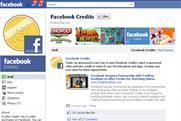 Facebook Credits: sponsored videos