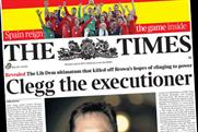 The Times: Mandelson book promo makes front page news