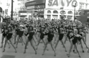 Cadbury Trident: Beyonce lookalikes hit Piccadilly