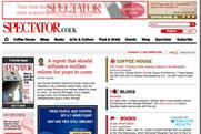 The Spectator: to charge for online content