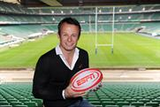 Austin Healey: former England player promotes ESPN's rugby coverage