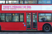 Atheist bus: public shows support