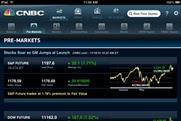 CNBC: unveils real-time financial news iPad app
