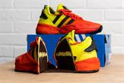 Adidas cooks up edible trainers with Deliveroo