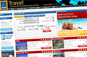 Aldi: unveils travel website