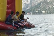 Honda: filmmakers take the plunge in Lake Garda