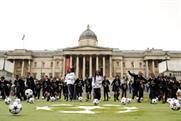 Uefa takeover Trafalgar Square ahead of Champions League finals