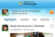 Windows Live Messenger: top app