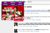 Skittles: new minimalistic approach to its website