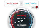 Tweetometer: Brown wins Tweetminster poll