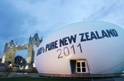 Tourism New Zealand's giant rugby ball