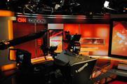CNN studio in London
