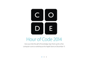 Apple to support this year's Hour of Code with events