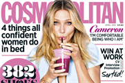 Cosmopolitan editor Louise Court led the discussion on marketing to women
