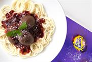 Cadbury serves up Creme Egg meatballs and spaghetti on live stream