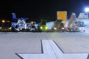 Cadbury' 'airport trucks' ad breaks this week