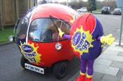 Cadbury Creme Egg: car to appear KateModern stunt