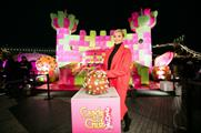Alesha Dixon officially unveiled the castle last night (2 March)