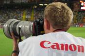 Canon: to sponsor Euro 2008