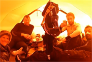 Team Glenfiddich enjoy whisky tasting thanks to Captive Minds
