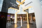 Chanel designs experiential space for N°5 fragrance