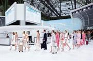 The Grand Palais in Paris was transformed to resemble an airport (@CHANEL)