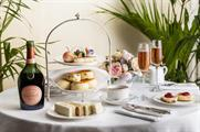 The Dorchester has teamed up with Laurent-Perrier to create its afternoon tea
