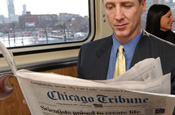 Chicago Tribune: Tribune Company reports loss