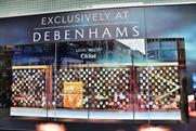 Debenhams: runs Chloé promotion