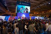 The giant stand attracted crowds at EGX London