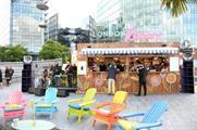 Vodka brand Cîroc launched its London Riviera pop-up last night (9 June)