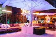 Ciroc stages winter terrace at Madison London