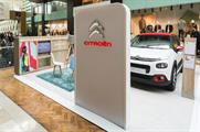 Citroën enters into partnership with Westfield