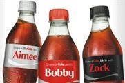 Share a Coke: Coca-Cola was deemed the most successful brand at social media marketing by an IAB study