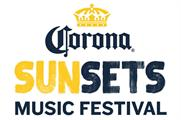 The first UK Corona Sunsets music festival event for 2015 will take place on 11 July