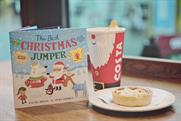 'The Best Christmas Jumper': the book is priced at £1.50, with £1.17 for each copy sold going to Save the Children