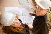 Cowboy Builders: hosts Gabrielle Blackman and Dominic Littlewood
