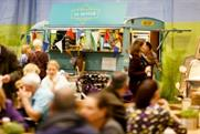 Creativevents debuted a variety of street food concepts