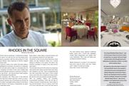 Gary Rhodes: launches customer magazine