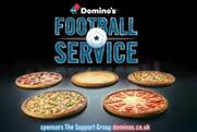 Domino's football supporter sitcom plays for laughs