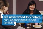 The Conservative Party: unveils latest poster campaign