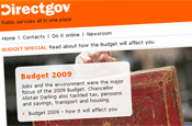 Directgov: launches Moneyspeak