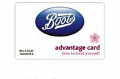 Boots...Lida takes Advantage card business