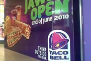 Taco Bell: Lakeside hoarding