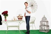 Jenson Button poses in the latest Vodafone campaign