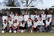 Children from inner city programmes take part in Football for Friendship