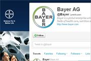 Bayer: German pharma group rapped after Tweeting the launch of two drugs