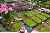 Evian: revamps Wimbledon site