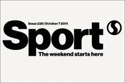 Sport magazine: redesign incorporates revamped masthead