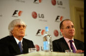 LG agrees global deal with F1